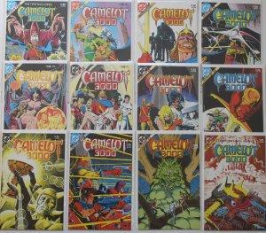 Camelot 3000 1 - 12 Complete Set DC Comics 1982 Series Unread NM