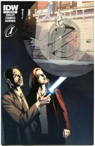 X-FILES Conspiracy #1, NM, Fox Mulder, Glow in dark, 2014, GhostBusters