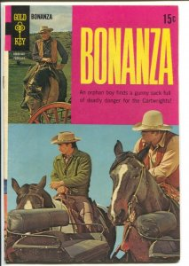 Bonanza #31 1969-Gold Key-Lorne Greene-Michael Landon-Dan Blocker-VG