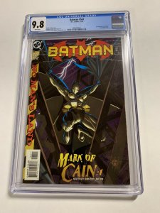 Batman 567 Cgc 9.8 White Pages 1st Cassandra Cain Dc Comics 011