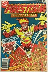 FIRESTORM#1 VF 1978 DC BRONZE AGE COMICS
