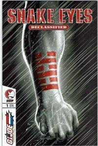 Snake-Eyes: Declassified #1  G.I. Joe Devils Due NM
