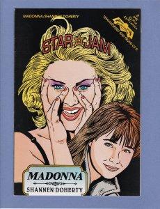 Star Jam #8 NM- Madonna Revolutionary Comics David Bowie