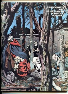 Cartoonists and Illustrators Portfolio #2 1978-Berni Wrightson-Jack Kirby- Fr...