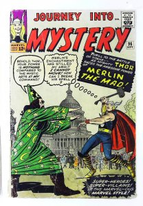 Journey into Mystery (1952 series) #96, Good+ (Actual scan)