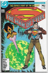 Man of Steel (vol. 1, 1986) #1 of 6 (reg.) FN Byrne, post-Crisis Superman origin