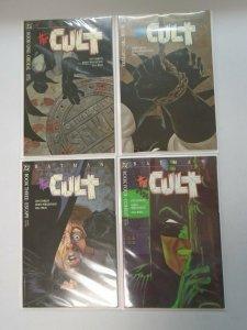 Batman the Cult set #1-4 6.0 FN (1988)