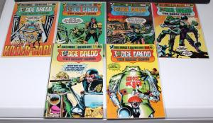 Judge Dredd's The Early Cases #1-6 (1,2,3,4,5,6) Eagle Comics ~VF/NM (HX173)