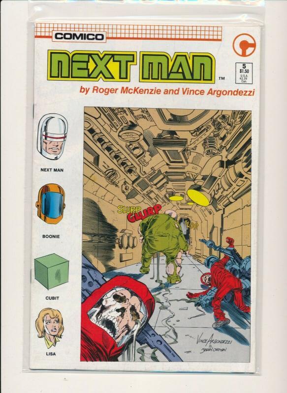Comico SET of 5- NEXT MAN #1-#5   F/VF(PF854)