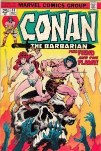 Conan the Barbarian #44 (Nov-74) FN/VF+ High-Grade Conan the Barbarian