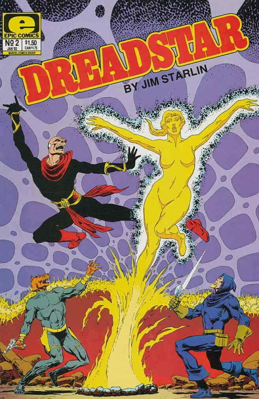 Dreadstar #2 VF/NM; Epic   save on shipping - details inside