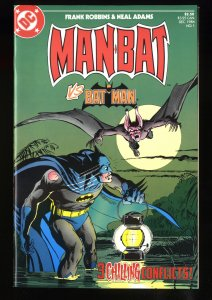 Man-Bat Vs. Batman #1 NM 9.4 Reprints Detective Comics #400