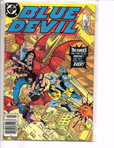 1985 DC Comics Blue Devil #10 NM