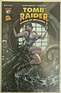 TOMB RAIDER : SPHERE OF INFLUENCE#1 NM 2004 DYNAMIC FORCES VARIANT TOP COW