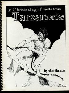 Chrono-log of Edgar Rice Burroughs Tarzan Series 1990-Alan Hanson-ERB-VF