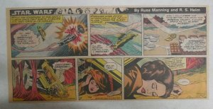 Star Wars Sunday Page #36 by Russ Manning from 11/11/1979 Third Full Page Size!