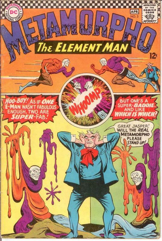 METAMORPHO 5 VG  April 1966 COMICS BOOK