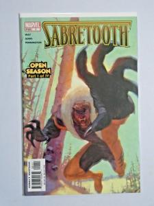 Sabretooth #1 Second 2nd Series 8.0 VF (2004)