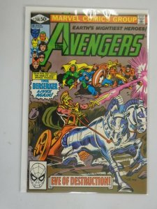 Avengers #208 Direct edition 8.0 VF (1981 1st Series)