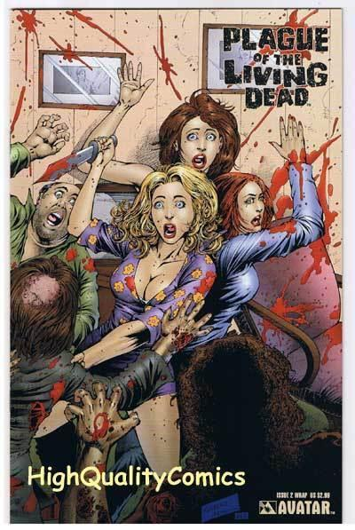 PLAGUE of the LIVING DEAD #2, VF/NM, Zombies, Wrap, 2007, more Horror in store