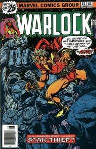 Warlock #13 (ungraded) stock photo