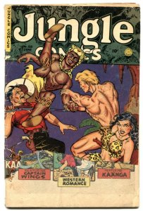 Jungle Comics #150 1952- Kaanga - headlight cover FR
