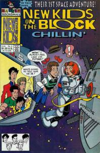 New Kids on the Block: Chillin' #5 VF; Harvey | save on shipping - details insid