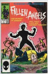 FALLEN ANGELS #1 2 3 4 5 6 7 8, VF/NM, X-men, 1987, New Mutants, 1-8