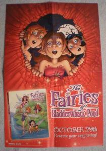 FAIRIES OF BLADDERWHACK POND Promo poster, Unused, more in our store