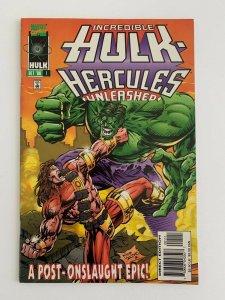 Incredible Hulk Hercules Unleashed #1 1996  Marvel Comics VF+
