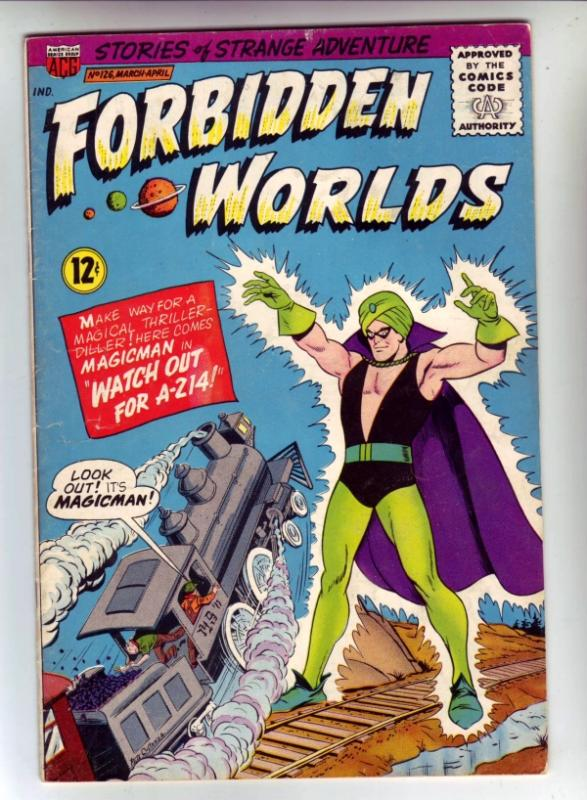 Forbidden Worlds #126 (Feb-64) FN/VF Mid-High-Grade Magicman