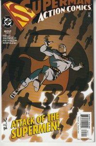 Action Comics(vol. 1) # 802  Attack of The Supermen !