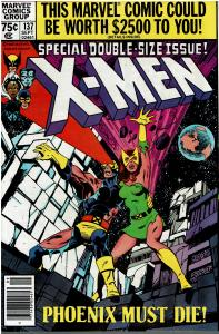 X-Men #137, Signed Terry Austin, 9.0 or Better