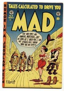 MAD  #9 1954-EC-Wally Wood-Will Elder-Kurtzman cover-Severin-Davis-FN+