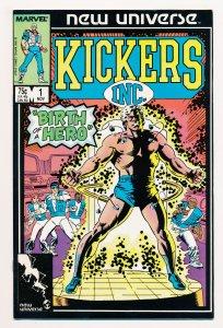 Kickers Inc. (1986) #1 NM