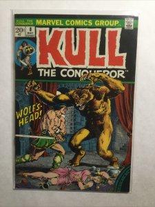 Kull The Conqueror 8 Very Fine Vf 8.0 Marvel