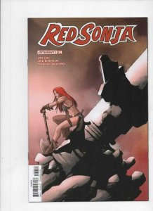 RED SONJA #24 A, NM-, She-Devil, Vol 4, McKone, 2017 2018, more RS in store