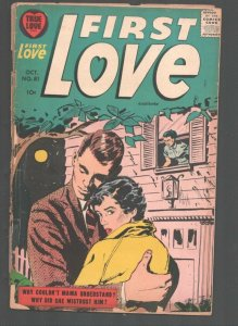 First Love #81 1957-Harvey-Shattered Romance-Exciting stories-G