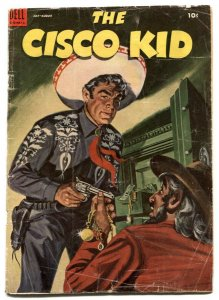 Cisco Kid #22 1954-Dell Golden Age Western FR