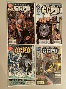 Batman GCPD set #1-4 6.0 FN (1996)
