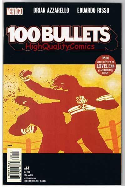 100 BULLETS #64, NM, Brian Azzarello, Risso, 1999, more Vertigo in store