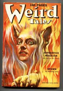 WEIRD TALES August 1939-FINLAY COVER-ROBERT BLOCH-ROBERT E HOWARD-fn-