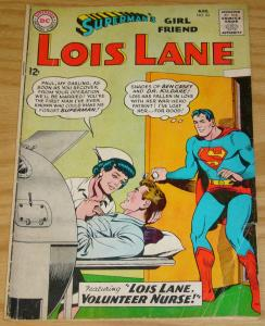 Superman's Girl Friend Lois Lane #43 VG august 1963 - volunteer nurse - DC