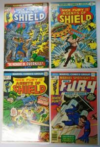 Nick Fury Lot 4 Different, Average 5.0