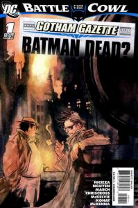 Gotham Gazette #1 VF/NM; DC   save on shipping - details inside
