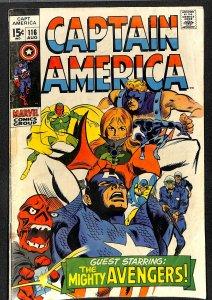 Captain America #116 VG 4.0