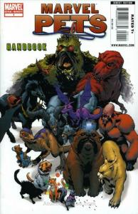 Marvel Pets Handbook #1 VF/NM; Marvel | save on shipping - details inside