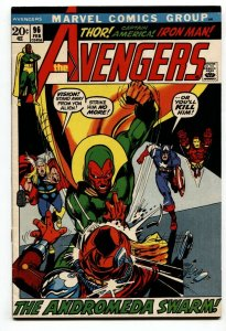 AVENGERS #96 Vision-Captain America-Human Torch-1972 VF+