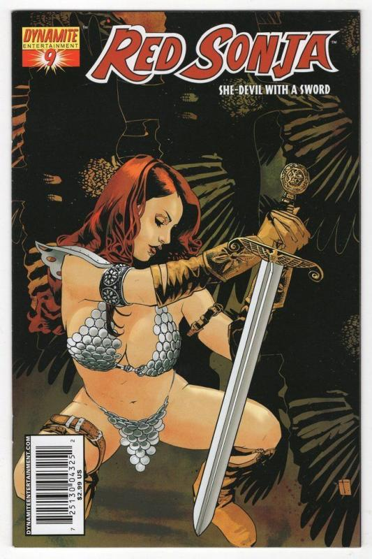 Red Sonja #9 (Dynamite)- Tomm Coker Cover