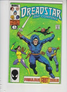 DREADSTAR AND COMPANY FIRST ISSUE JULY 1985 MARVEL / NM / UNREAD